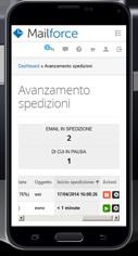 Mailforce su Smartphone e cellulari