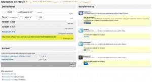 Come condividere email e newsletter sui Social Network con Mailforce