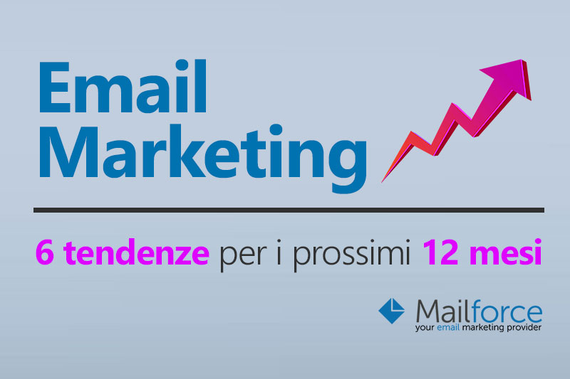 6 tendenze nell'Email Marketing per i prossimi 12 mesi del 2016