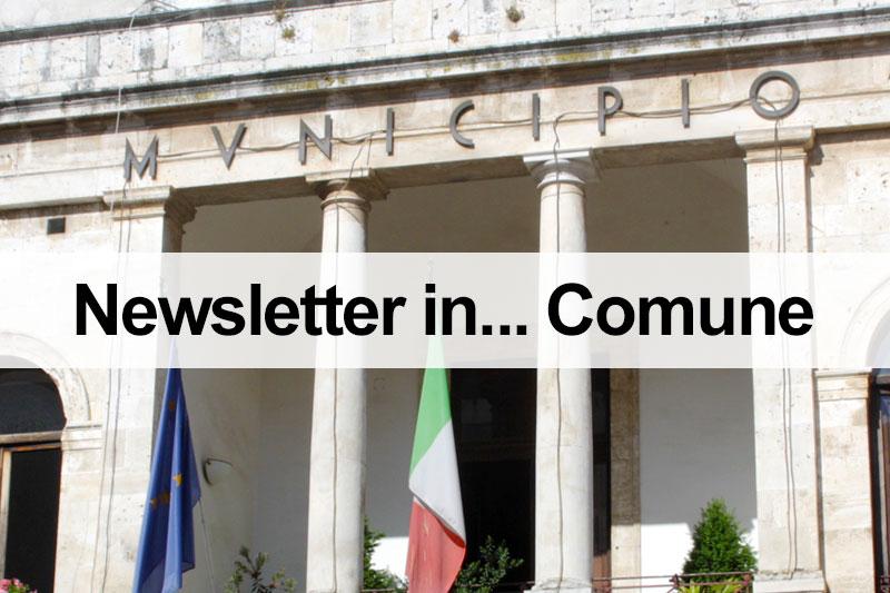 Newsletter in... Comune